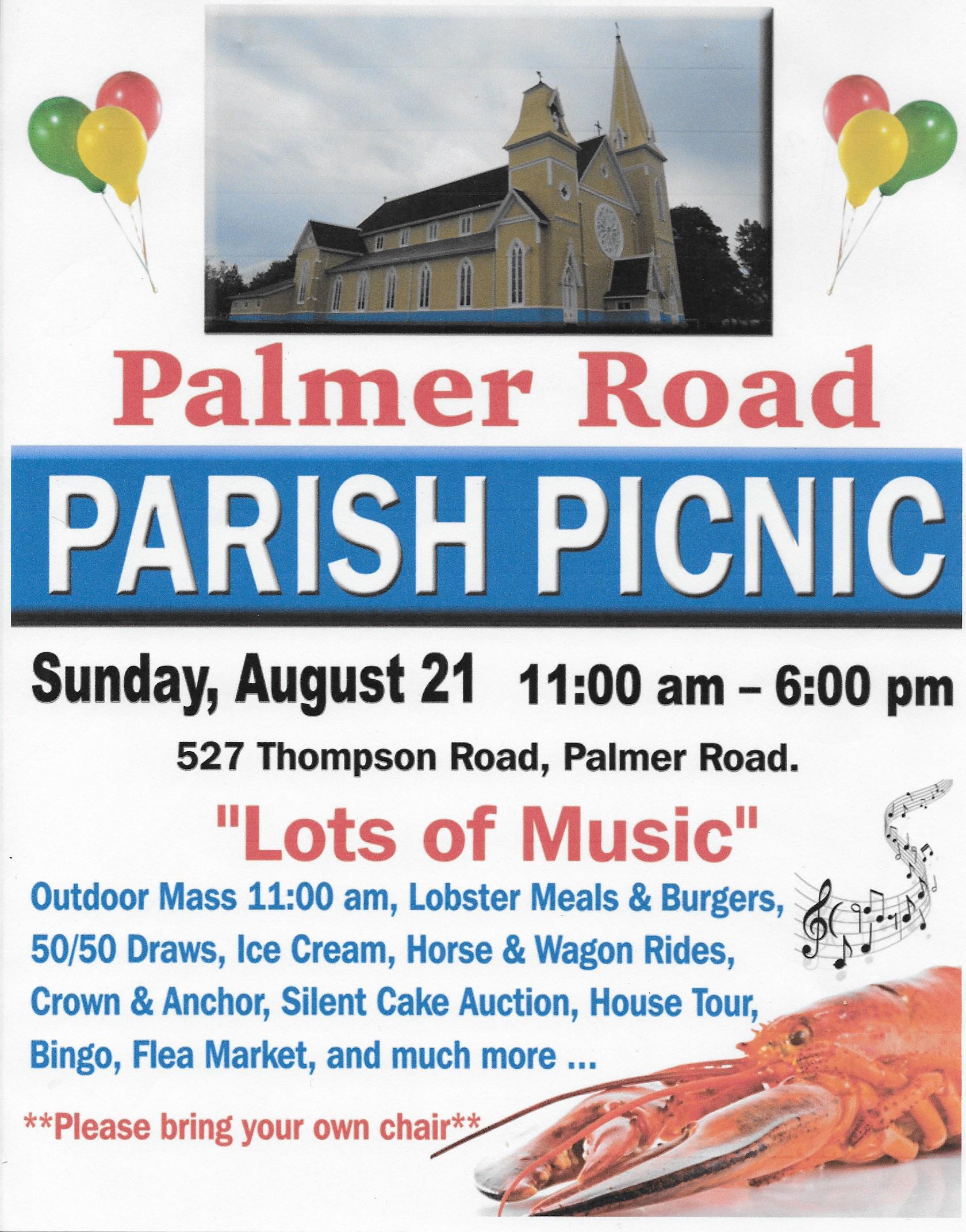 Poster 2016 Parish Picnic 2