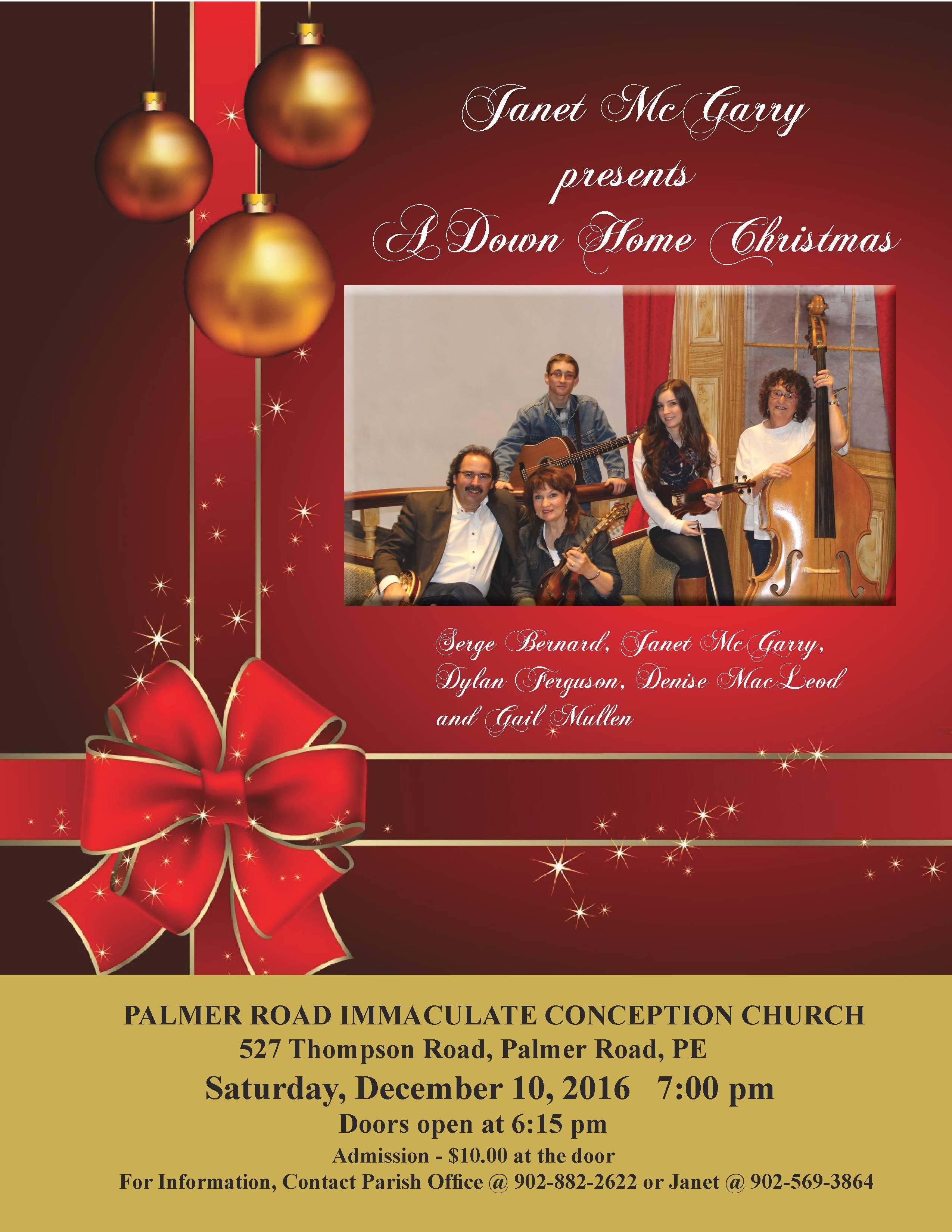 A Down Home Christmas, Palmer Road December 10, 2016